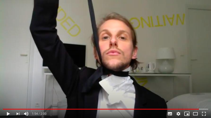 ©Florent Audoye - Un noeud de cravate en 2 min, 2018