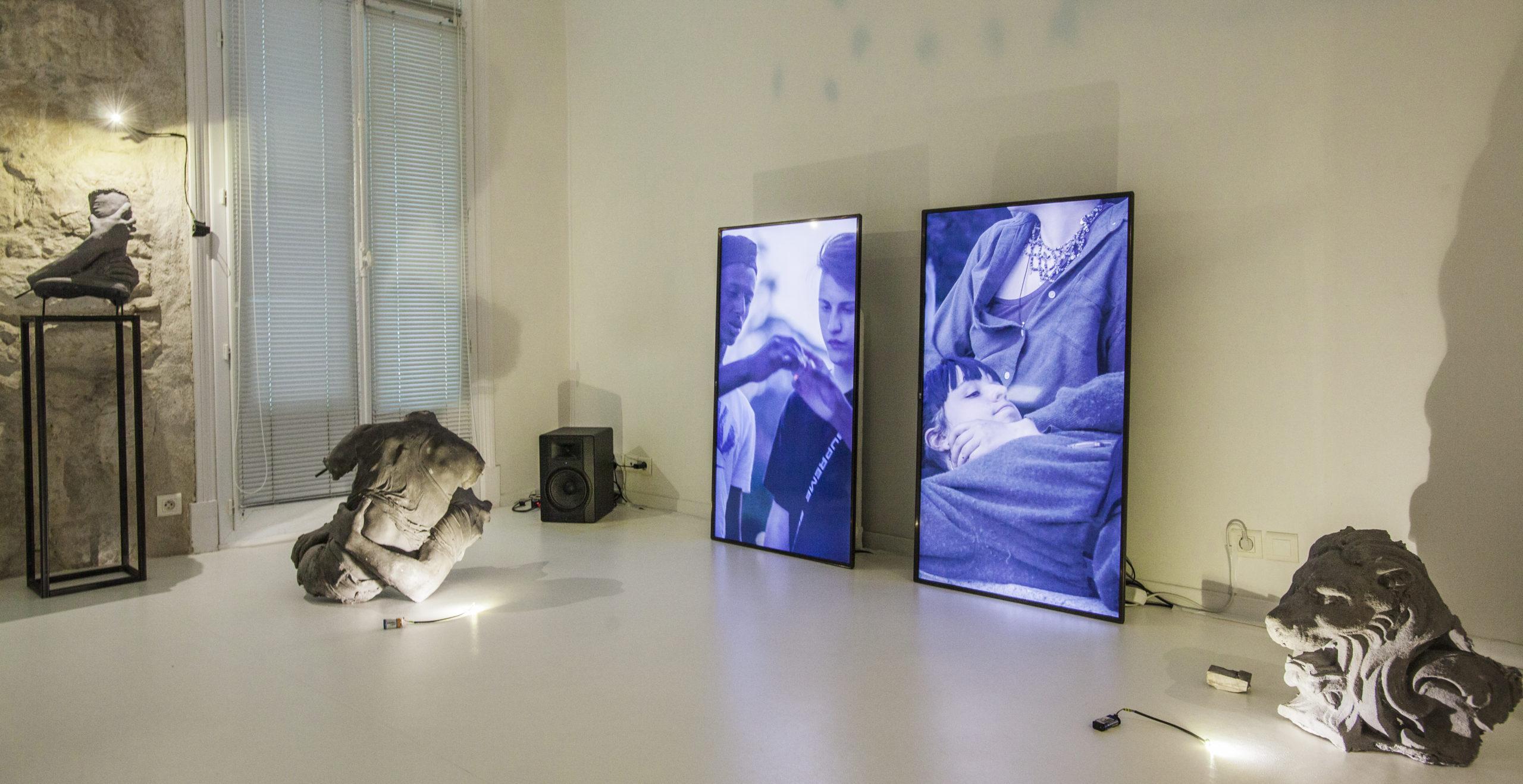 Ugo Schiavi, Sylvain Couzinet - Galerie Double V,