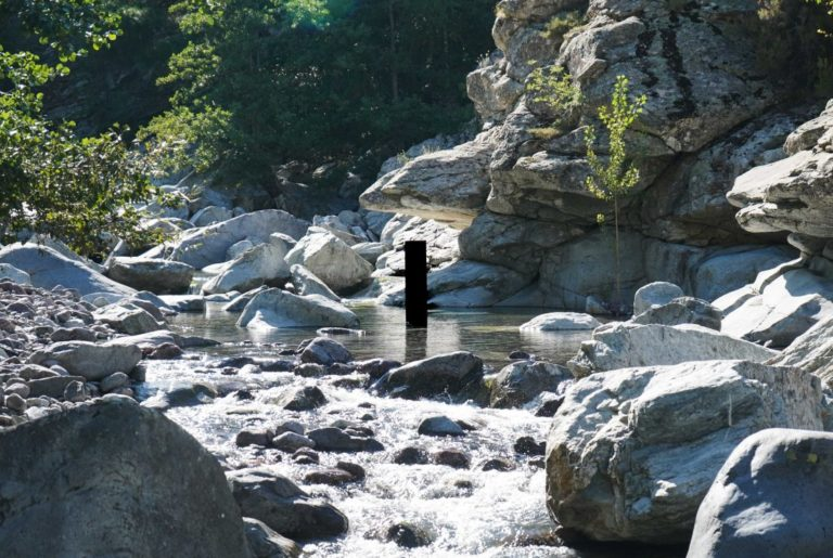 @Benoit Barbagli, All roads go through a river, 2019