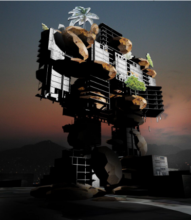 @Troll or the Voluntary Ruin,Andreas Angelidakis et Raymundo, 2012
