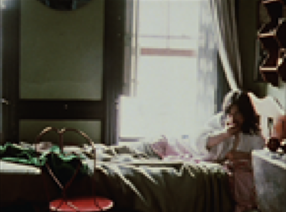 @Chantal Akerman, La Chambre, 1972