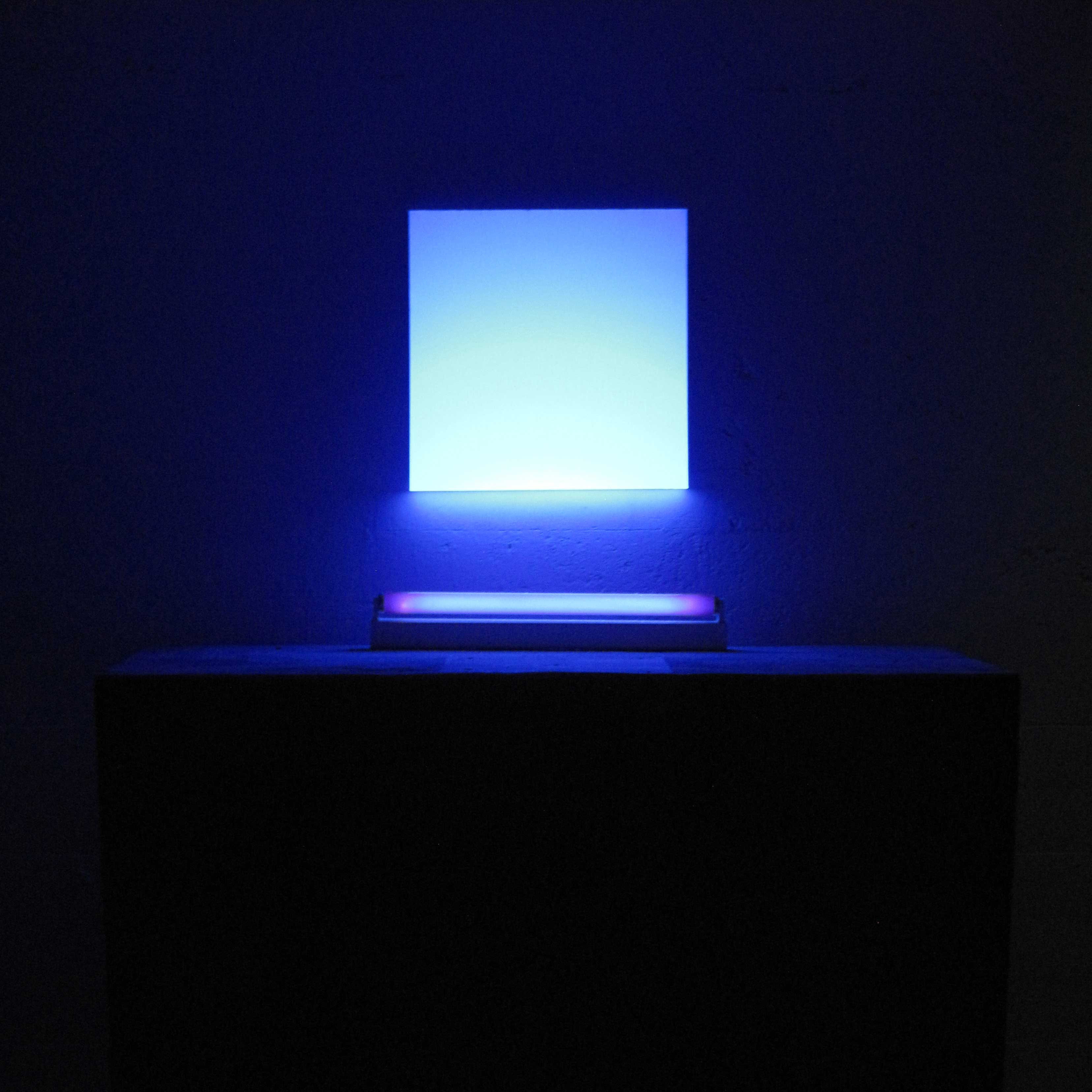 @Eric Michel, lumière fluo, 2017