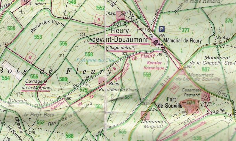 Florian Schönerstedt, Les cartes du champ de bataille