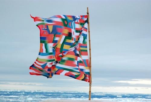 @Lucy & Jorge Orta, Bureau des passeports Antartica - sélection The (He)art for (He)art Program