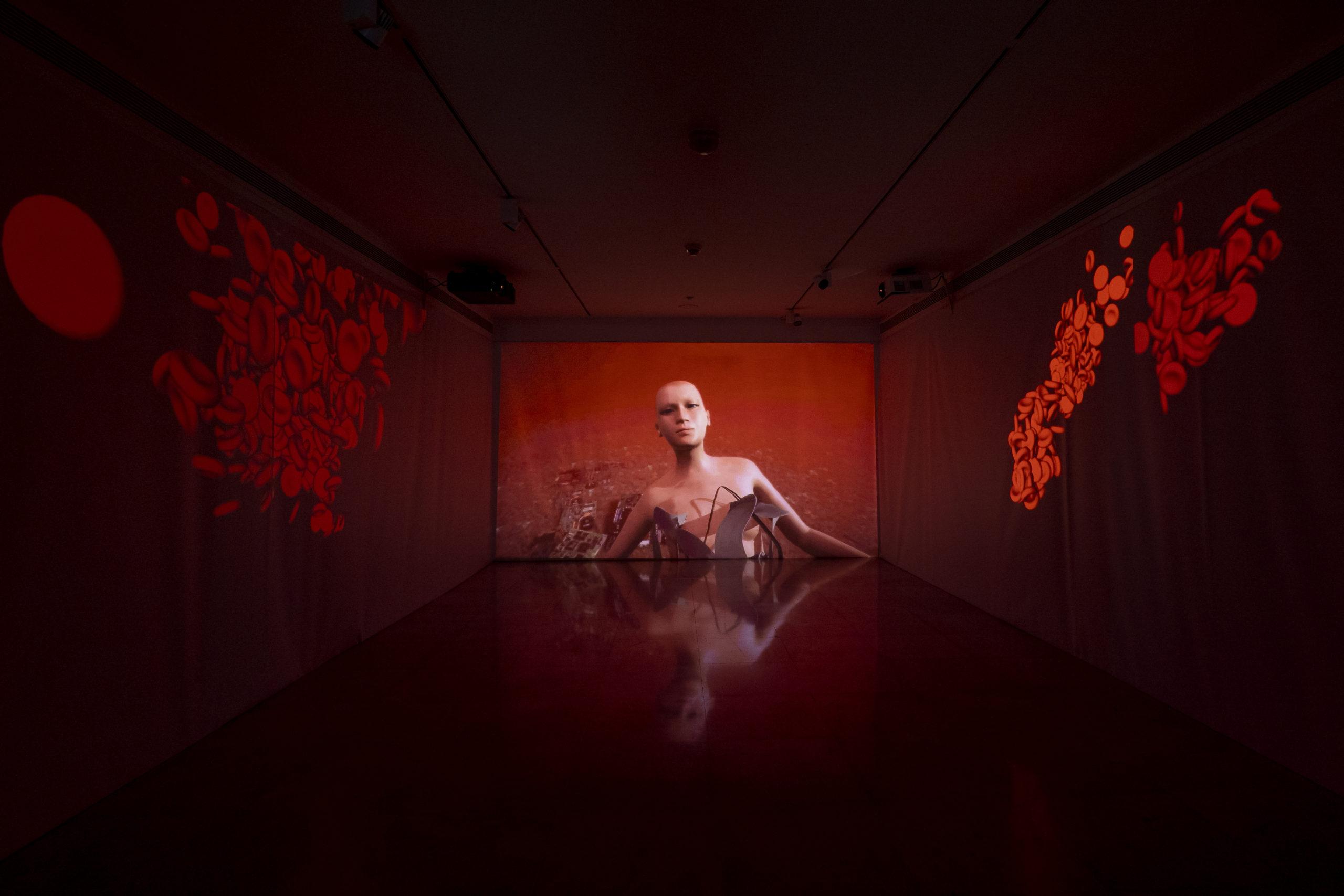 ©Olivier Anrigo, Vue de l'installation, 2021